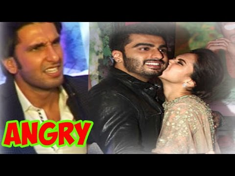 Finding Fanny Move Success Party: Ranveer Singh angry with Deepika Padukone and Arjun Kapoor?