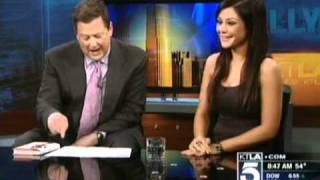 Jwoww (Jersey Shore) Interview - KTLA Morning News (Feb. 17th 2011)