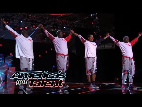 Tic & Tac Entertainment: Acrobatic Street Dancers Fly and Flip - America's Got Talent 2014