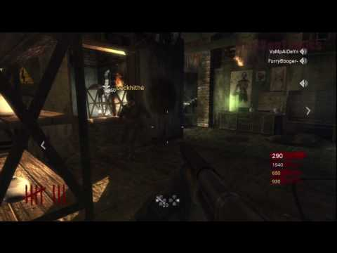 Call of Duty: World at War Nazi Zombies Der Riese 4-Player Strategy (Rounds 8-9)