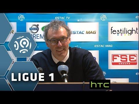 Vivez la conférence de presse de Laurent Blanc après le titre - 30ème journée de Ligue 1 / 2015-16