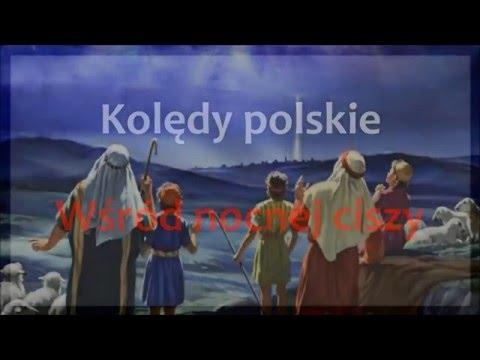 Polskie Kolędy I Pastorałki Karaoke - Wśród Nocnej Ciszy Instrumental + Tekst
