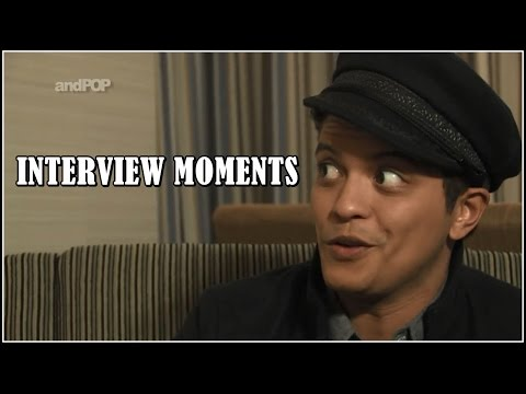 Bruno Mars - INTERVIEW MOMENTS ♥