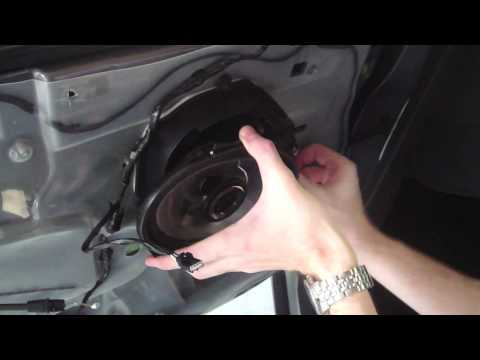 2012 Ford Escape Rear Speaker Install Door Panel Removal How To Make Do Everything