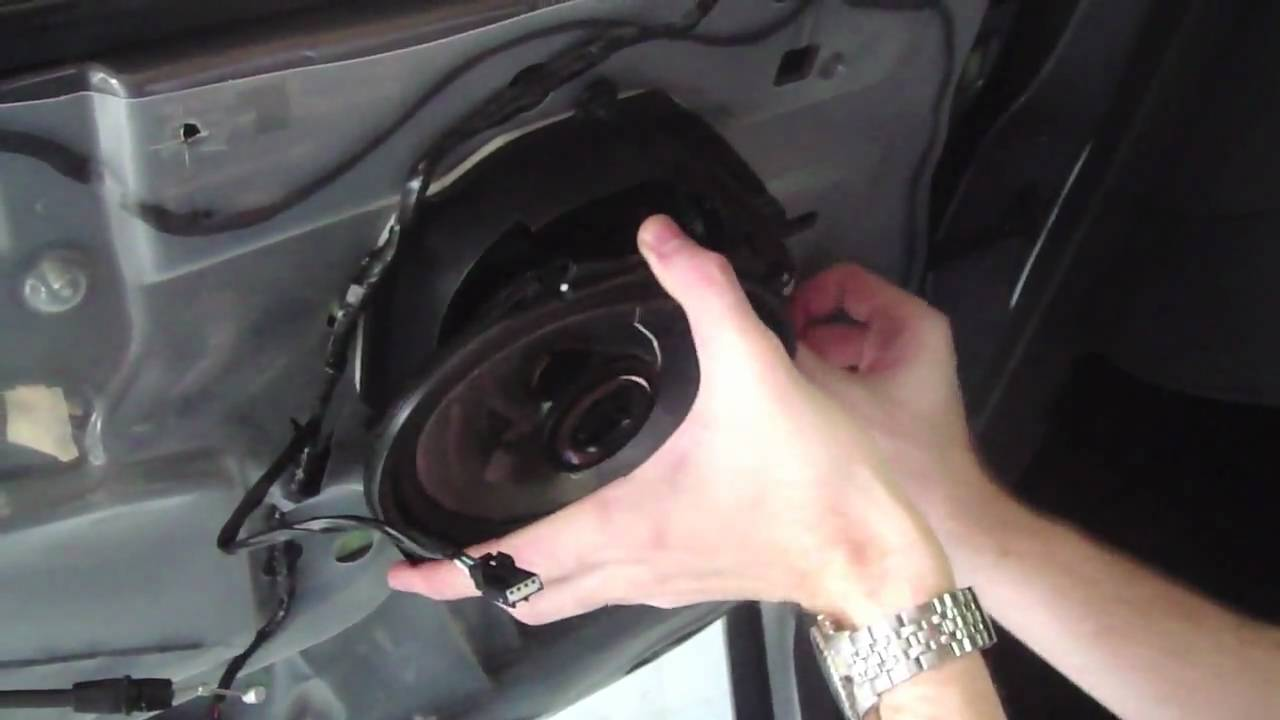 ford mustang speaker replacement   guide