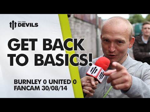 Get Di Maria Out Left! | Burnley 0 Manchester United 0 | FAN CAM