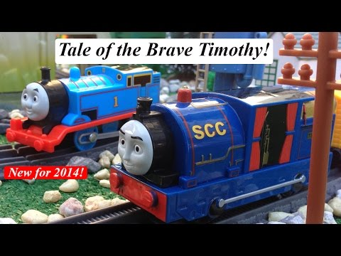 New Unboxing the Newly Re-Designed 2014 Thomas and Friends Tale of the Brave Trackmaster Timothy!