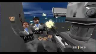 GoldenEye 007 N64 Walkthrough - Frigate - 00 Agent