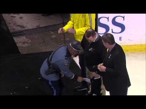Boston Bruins Give Sweaters to Boston Marathon First Responders - 4/21/2013