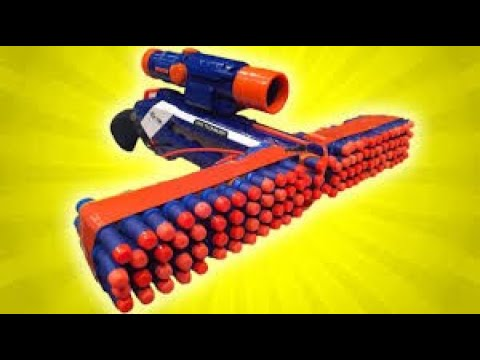 NEW NERF GUN 2015!   Unboxing and Review - YouTube