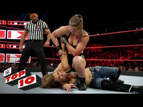 Top 10 Raw moments: WWE Top 10, November 19, 2018 thumbnail