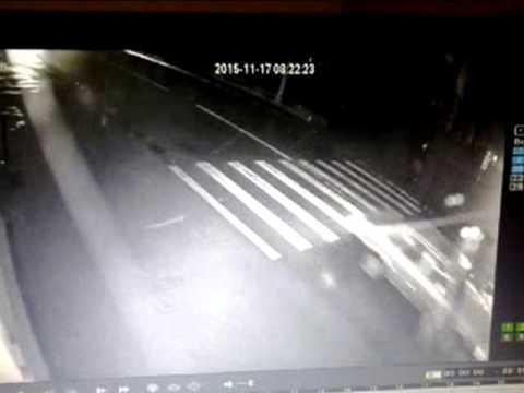 Наезд на пешехода в Скиделе 17 11 2015