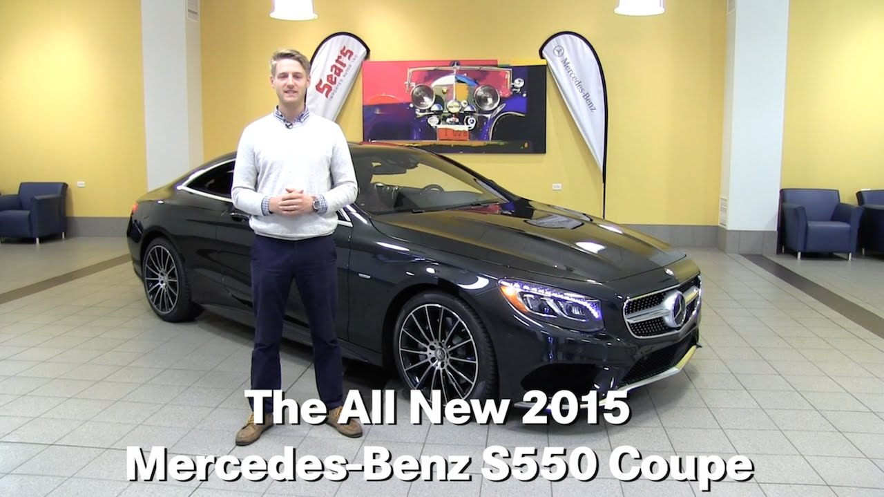 The all new 2015 mercedes benz s550 s class coupe for Mercedes benz bloomington mn