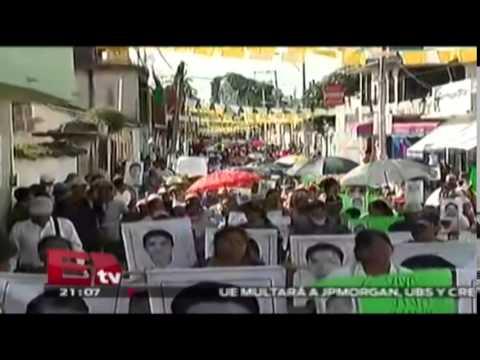 Bloqueos y marchas en Tixtla, Guerrero / Todo México
