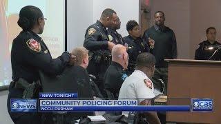 Community policing forum held