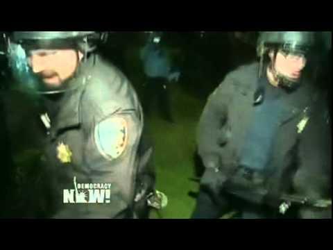 Occupy California: 39 Verhaftungen nach Polizei-Gewalteskalation (Englisch)