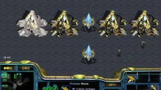 starcraft brood war 1 vs 1 fastest (PROTOSS vs zerg) (GtxMexico)