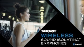 Shure Wireless Sound Isolating™ Earphones