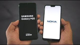 Samsung M20 vs Nokia 6.1 Plus SpeedTest Comparison