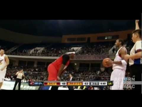 McGrady vs McCants: T-Mac Doubles McCants' 16, Dropping 32 on Him(CbaG2/FullHLs/11.28.2012)