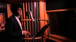 "The Boxtrolls: Richard Ayoade ""Mr. Pickles"" Voice Recording Broll"
