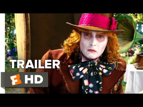 Alice Through the Looking Glass Official Grammy Trailer (2016) - Johnny Depp, Sacha Baron Movie HD