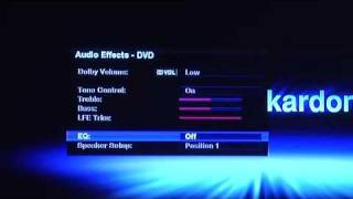 A walk through of the Harman Kardon high Definition User Interface for AVR 2600, 2600, and 7550HD