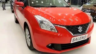 Maruti Suzuki Baleno Fire Red Colour Full View