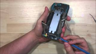 HTC One E8 Screen Repalcement  - Disassembly - All internals