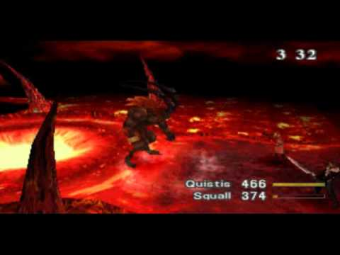 Final Fantasy 8 Walkthrough Part 3 - Fire Cavern (Ifrit Boss)