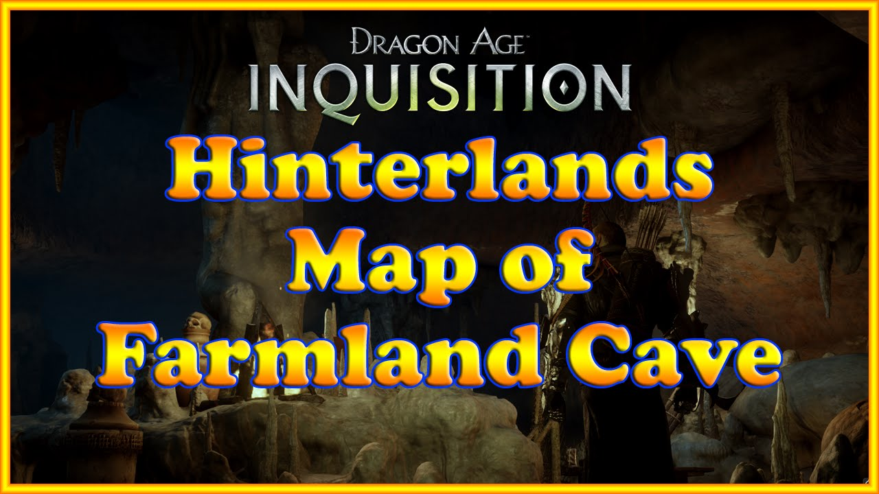 Dragon Age Inquisition Map Dragon Age Inquisition Map