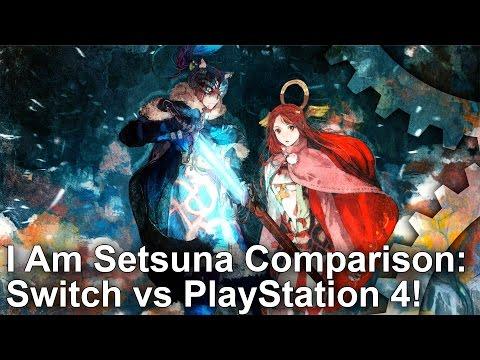 Switch vs PS4! I Am Setsuna Comparison + Frame-Rate Test