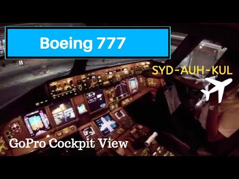 GoPro || Flying to Abu Dhabi on a Boeing 777