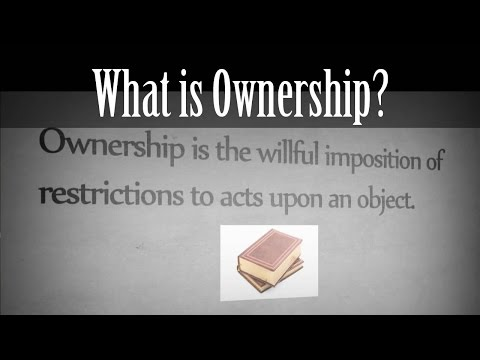 [Eden's Philosophy #1] What is Ownership?