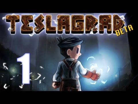 TeslaGrad - BETA - Episodio 1 - Probando un nuevo juego de plataformas muy entretenido -