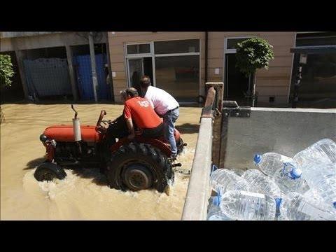 Floods Continue in Serbia, Balkan Region