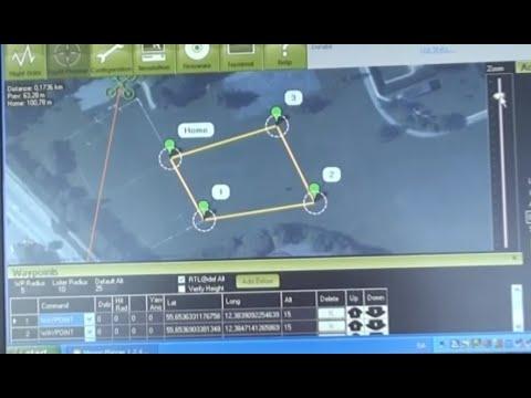 Ardupilot Waypoint Mission planner test