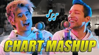 14 Chart Songs in 1 - Mashup mit Rezo | Julien Bam