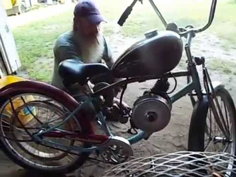 Maytag model 72 powered motor bike project part 2