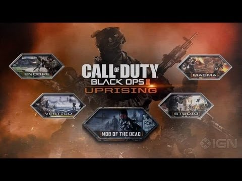 Black Ops 2: Uprising DLC Trailer