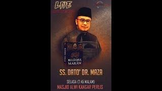 10-01-2017 SS. DATO' DR. MAZA: Pengajian Kitab Bulughul Maram | Mukadimah (siri 1)