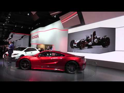 Honda Press conference at IAA 2015   AutoMotoTV