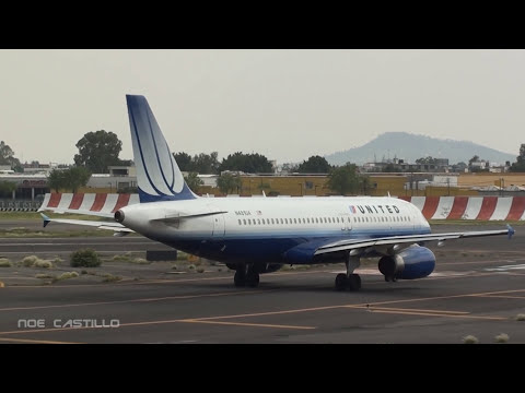 Aeropuerto de la Ciudad de Mexico (AICM) - MMMX - Aterrizajes y Despegues - 21 Minutos de Acción