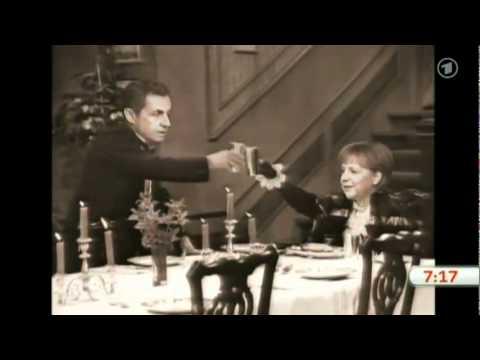 [subtitles] 'dinner For One' Sarkozy & Merkel video