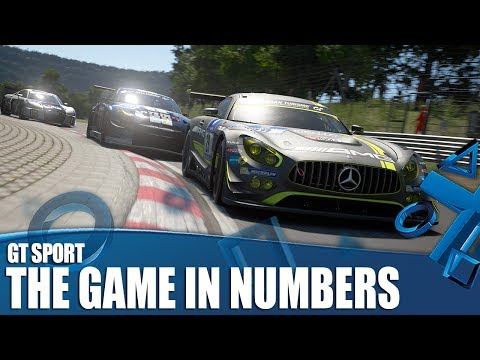 GT Sport New Gameplay - The Game In Numbers