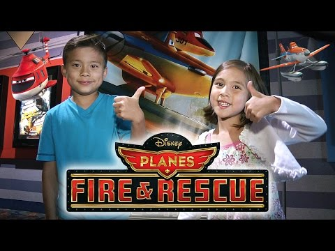 Disney's PLANES: FIRE & RESCUE Screening with Special Guests!