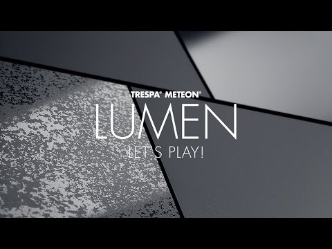 Trespa® Meteon® Lumen – let's play!