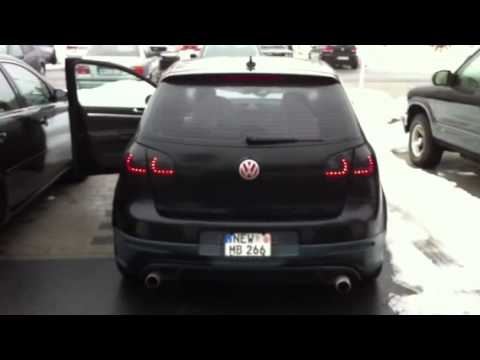 Mk6 Gti Look Tails On A Mk5 Youtube