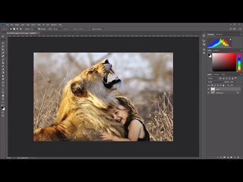 Adobe Photoshop cc 2018 basics tutorial for Beginners | How to use Photoshop | Photoshop Vignette