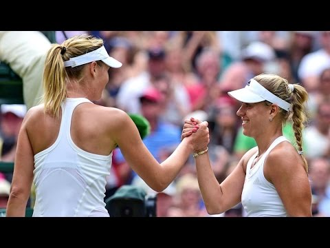 Angelique Kerber VS Maria Sharapova Highlight (WC) 2014 R4